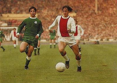 Cruyff contra Panathinaikos, 1971.