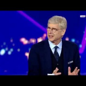 Barcelona vs liverpool , Arsene Wenger, Ruud Gullit and Marcel Desailly bein Sports studio.